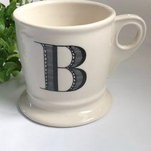 Anthropologie Mug Letter B